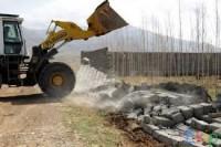 تخریب و خاکبرداری مجهز به کلیه ماشین آلات