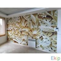 کاغذ دیواری و پوستر سه بعدی